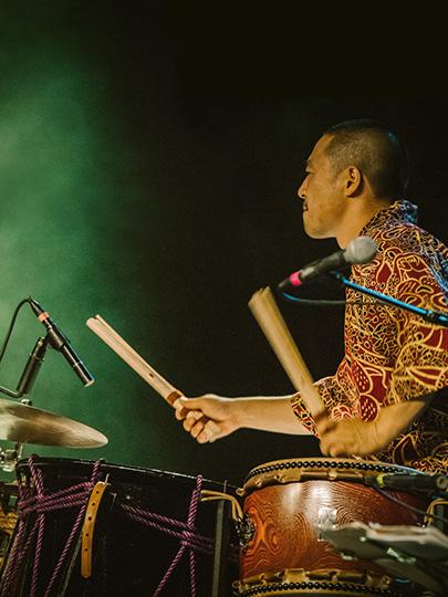 和太鼓の世界観 祭りで!全国で!世界で!